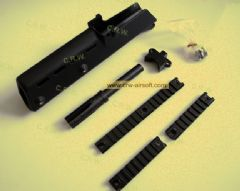 G36K kit with 3 rails